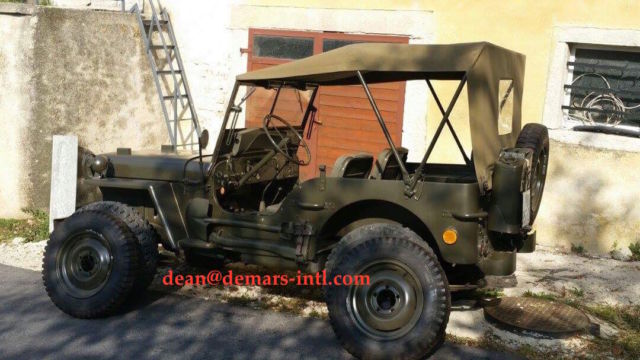1945 Willys MB SUV