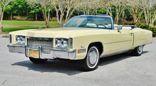 1972 Cadillac Eldorado bought to have 38k car is beautiful must see