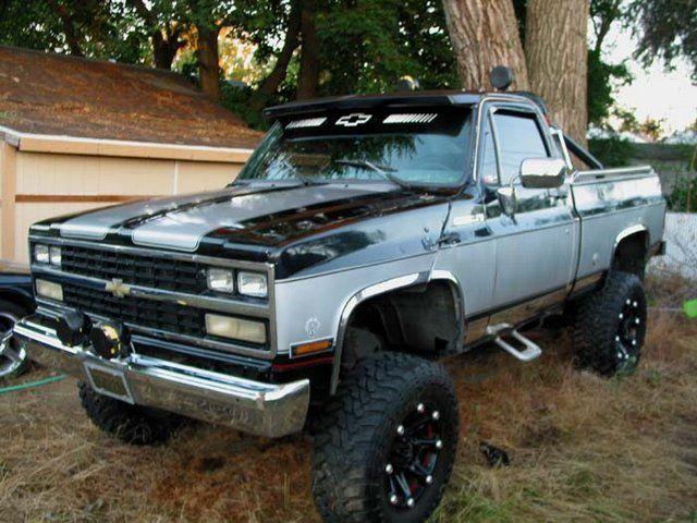 Wow! L@@K! 1973 Chevy Cheyenne 3/4 Ton 4x4 Pickup with Tilt hood