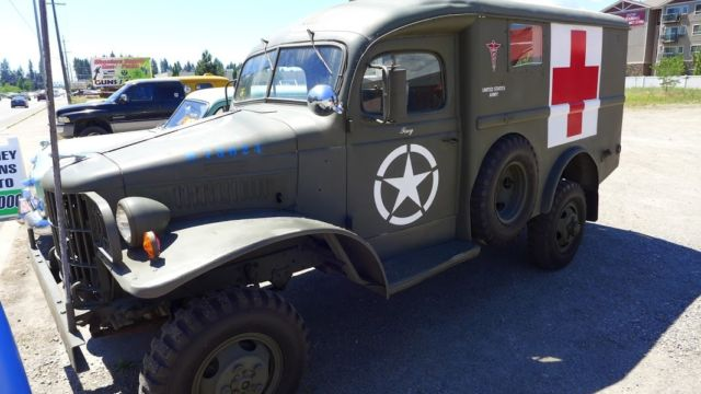 1941 Dodge WC27 WWII Ambulance