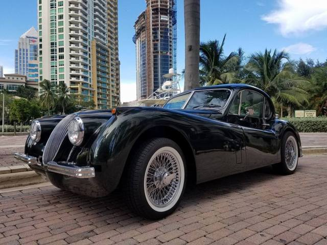 Xk120 coupe replica by american classic usa for sale for American classic usa
