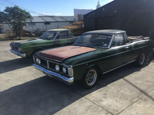 1969 Ford Falcon GT and Cruisormatic
