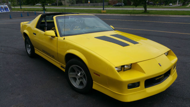 yellow iroc z 5.0l tpi with t tops for sale: photos ...